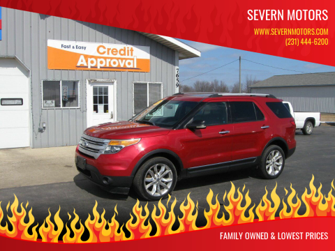 2011 Ford Explorer for sale at Severn Motors in Cadillac MI