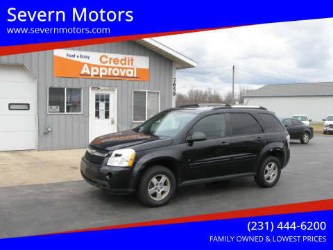 2008 Chevrolet Equinox for sale at Severn Motors in Cadillac MI