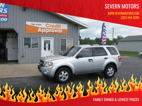 2010 Ford Escape for sale at Severn Motors in Cadillac MI