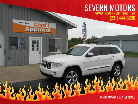 2012 Jeep Grand Cherokee for sale at Severn Motors in Cadillac MI
