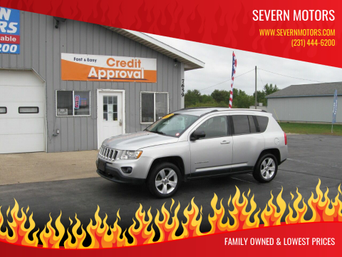 2011 Jeep Compass for sale at Severn Motors in Cadillac MI