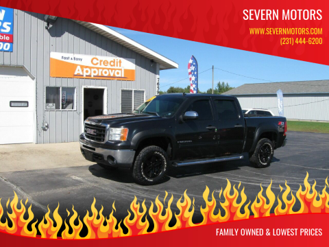 2009 GMC Sierra 1500 for sale at Severn Motors in Cadillac MI
