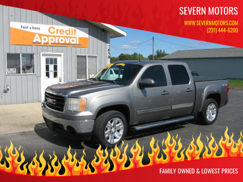 2008 GMC Sierra 1500 for sale at Severn Motors in Cadillac MI