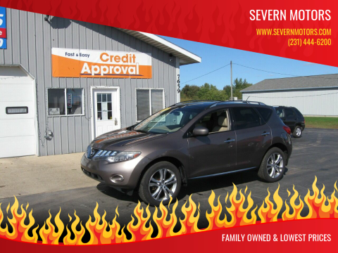 2009 Nissan Murano for sale at Severn Motors in Cadillac MI