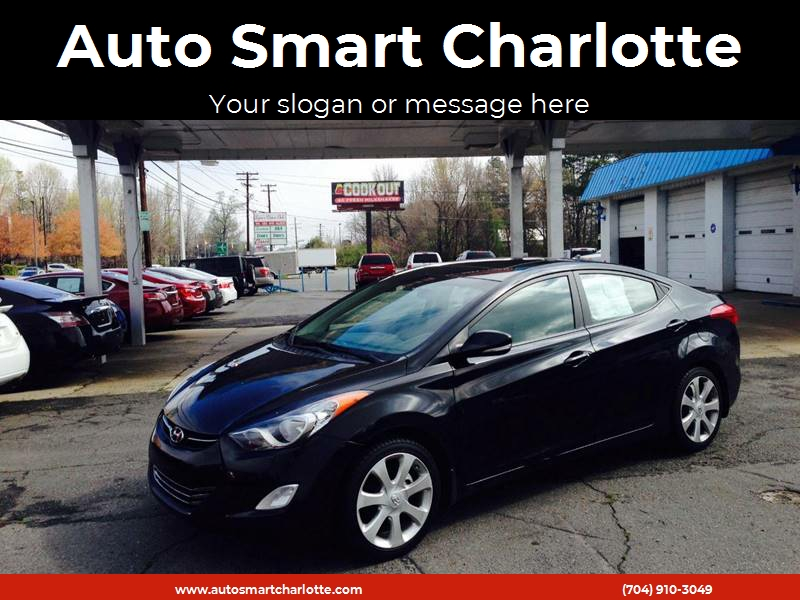 2012 Hyundai Elantra For Sale At Auto Smart Charlotte In Charlotte NC