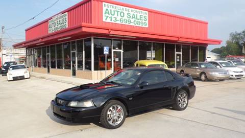 2002 Ford Mustang for sale in Houston, TX