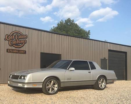1987 Chevrolet Monte Carlo for sale at Lost Cause Customs in Poplar Bluff MO