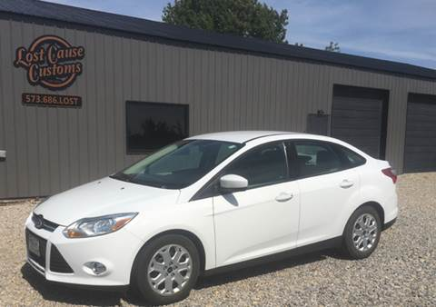 2012 Ford Focus for sale at Lost Cause Customs in Poplar Bluff MO