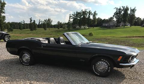 1970 Ford Mustang for sale at Lost Cause Customs in Poplar Bluff MO
