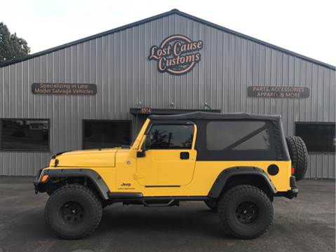 2006 Jeep Wrangler for sale at Lost Cause Customs in Poplar Bluff MO