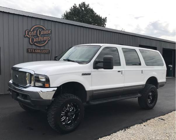 Ford Excursion For Sale At Lost Cause Customs In Poplar Bluff Mo