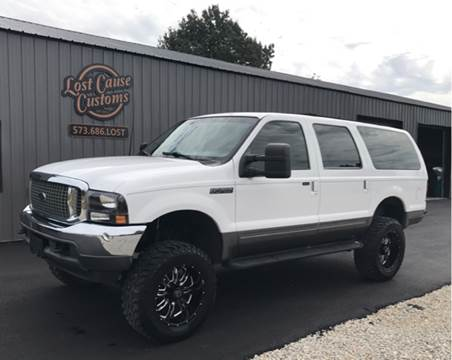 2001 Ford Excursion for sale at Lost Cause Customs in Poplar Bluff MO