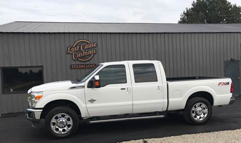 2012 Ford F-250 Super Duty for sale at Lost Cause Customs in Poplar Bluff MO