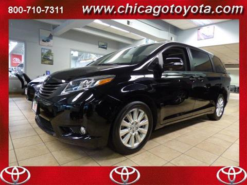 2017 Toyota Sienna for sale in Chicago IL