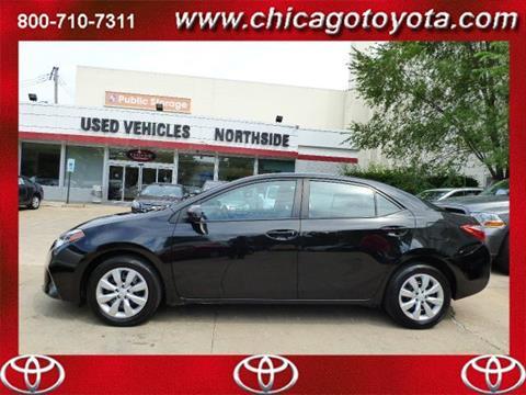 2015 Toyota Corolla for sale in Chicago IL