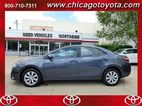 2014 Toyota Corolla for sale in Chicago IL