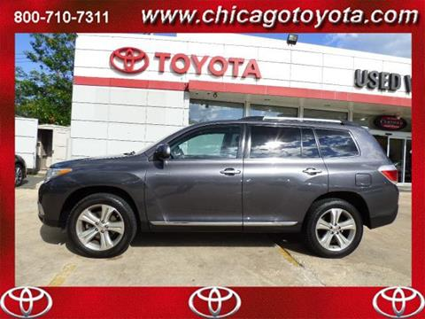 2012 Toyota Highlander for sale in Chicago IL