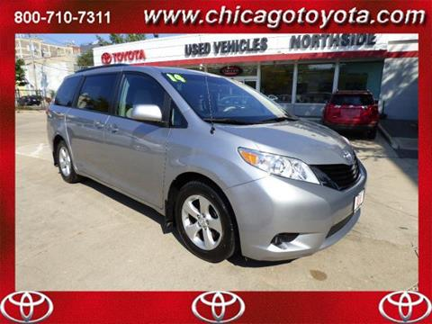 2014 Toyota Sienna for sale in Chicago IL