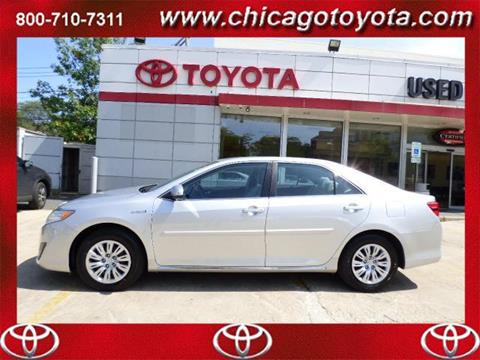 2014 Toyota Camry Hybrid for sale in Chicago IL