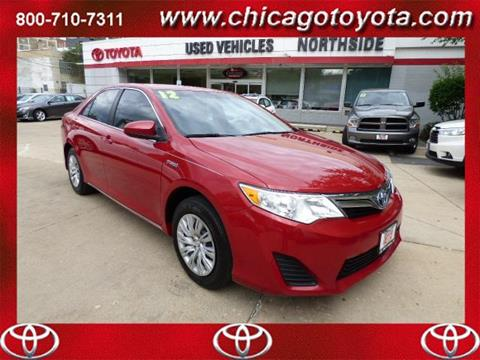 2012 Toyota Camry Hybrid for sale in Chicago IL