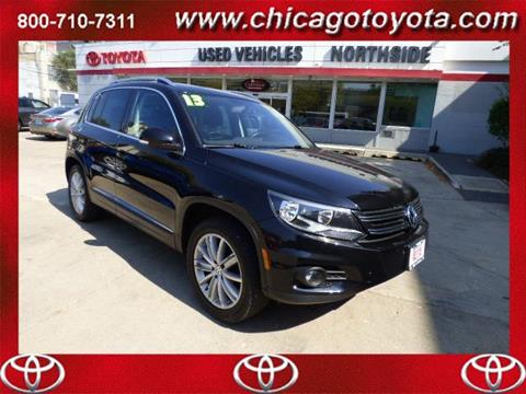 2013 Volkswagen Tiguan for sale in Chicago IL
