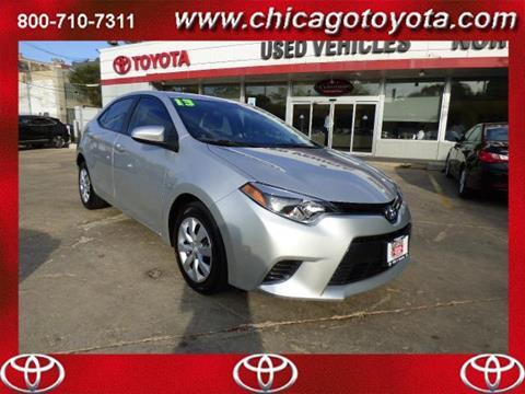 2015 Toyota Corolla for sale in Chicago, IL