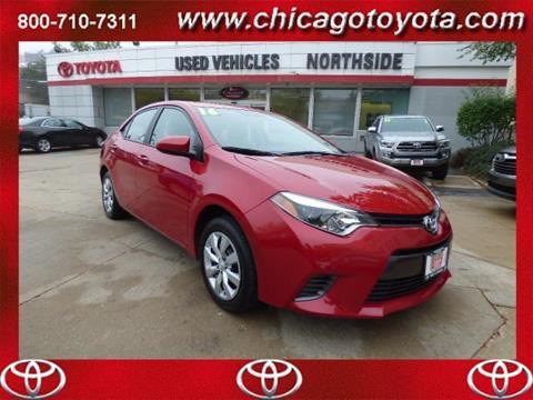 2016 Toyota Corolla for sale in Chicago IL