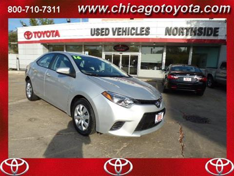 2016 Toyota Corolla for sale in Chicago IL
