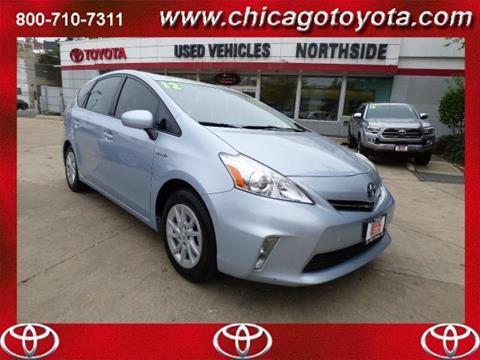 2012 Toyota Prius v for sale in Chicago, IL