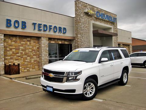 2018 Chevrolet Tahoe for sale in Farmersville, TX