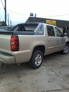2007 chevrolet avalanche for sale in louisiana. Black Bedroom Furniture Sets. Home Design Ideas