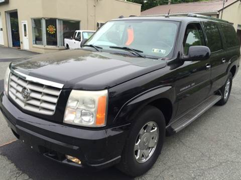 2005 Cadillac Escalade ESV for sale in Boyertown, PA