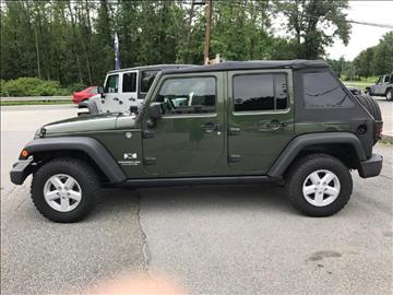 2008 Jeep Wrangler Unlimited for sale in Warwick, NY