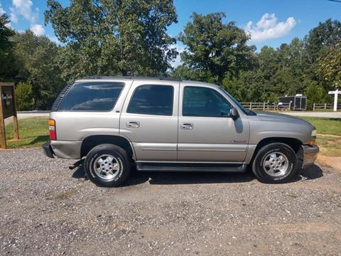 2000 Chevrolet Tahoe for sale in Campobello, SC