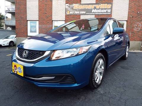 2015 Honda Civic for sale at Somerville Motors in Somerville MA