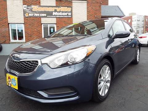 2015 Kia Forte for sale at Somerville Motors in Somerville MA
