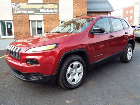 2014 Jeep Cherokee for sale at Somerville Motors in Somerville MA