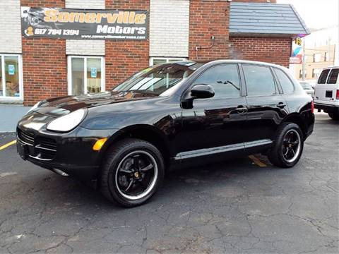2006 Porsche Cayenne for sale at Somerville Motors in Somerville MA