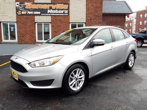 2017 Ford Focus for sale at Somerville Motors in Somerville MA