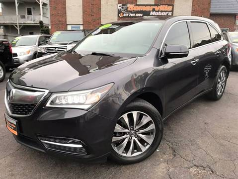 2014 Acura MDX for sale at Somerville Motors in Somerville MA