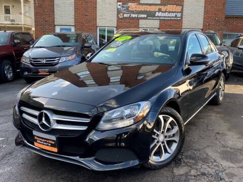 2016 Mercedes-Benz C-Class for sale at Somerville Motors in Somerville MA