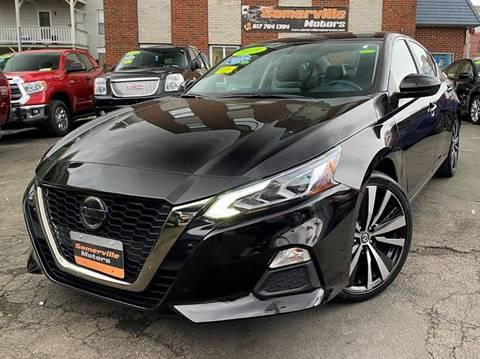 2019 Nissan Altima for sale at Somerville Motors in Somerville MA