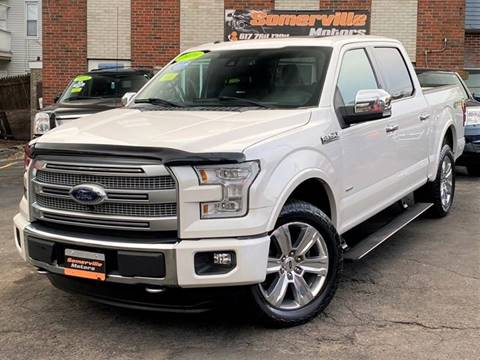 2016 Ford F-150 for sale at Somerville Motors in Somerville MA