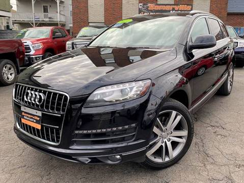 2014 Audi Q7 for sale at Somerville Motors in Somerville MA