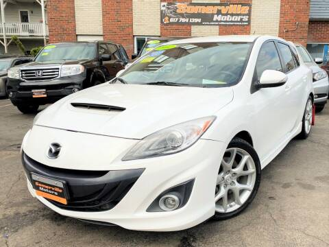 2012 Mazda MAZDASPEED3 for sale at Somerville Motors in Somerville MA