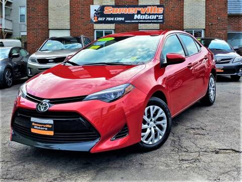 2017 Toyota Corolla for sale at Somerville Motors in Somerville MA