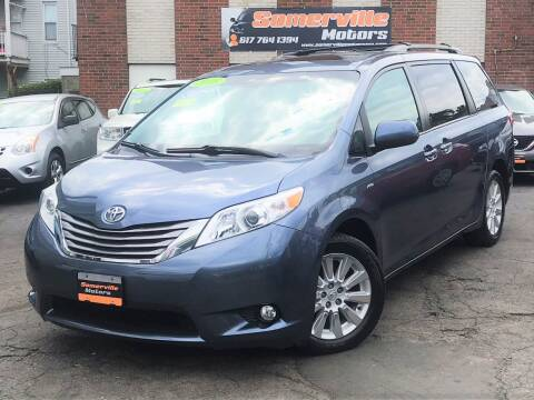 2016 Toyota Sienna for sale at Somerville Motors in Somerville MA
