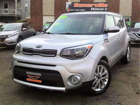 2018 Kia Soul for sale at Somerville Motors in Somerville MA