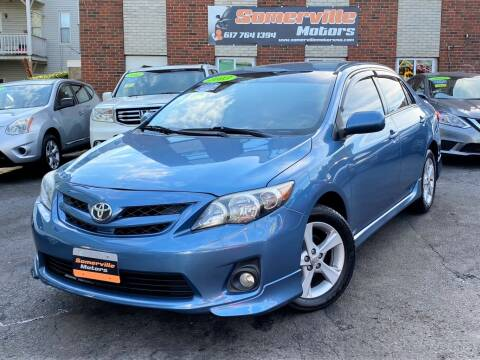 2013 Toyota Corolla for sale at Somerville Motors in Somerville MA