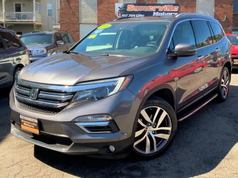 2016 Honda Pilot for sale at Somerville Motors in Somerville MA